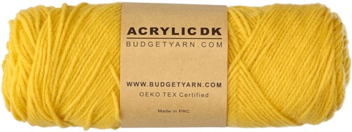 Budgetyarn Acrylic DK 013 Sunglow