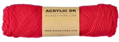 Budgetyarn Acrylic DK 033 Raspberry