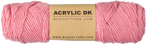 Budgetyarn Acrylic DK 038 Peony Pink