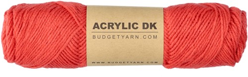 Budgetyarn Acrylic DK 041 Coral