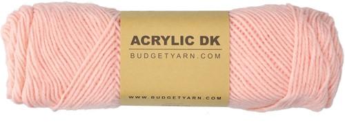 Budgetyarn Acrylic DK 042 Peach