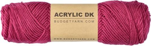 Budgetyarn Acrylic DK 050 Purple Bordeaux