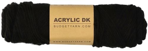 Budgetyarn Acrylic DK 100 Black
