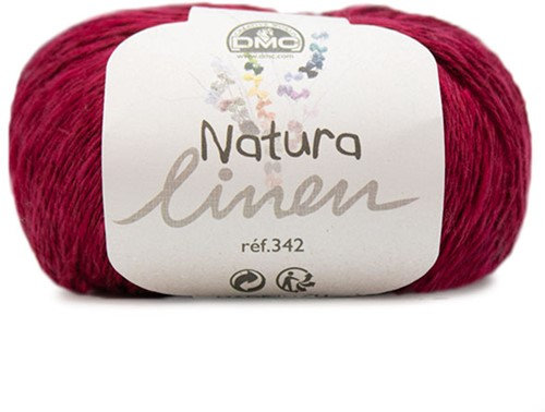 DMC Natura Linen 005 Dark Red