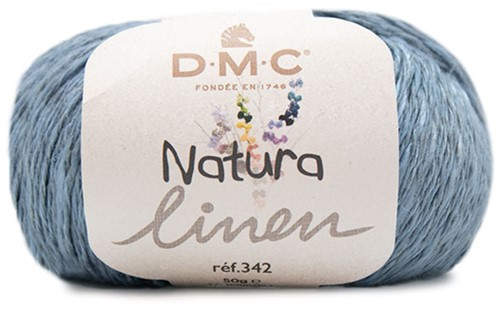DMC Natura Linen 007 Steel Blue
