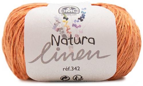 DMC Natura Linen 101 Orange