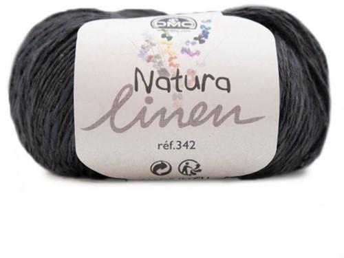 DMC Natura Linen 123 Black
