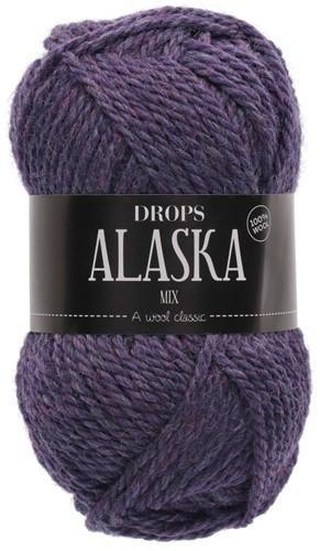 Drops Alaska Mix 54 Lila-meliert