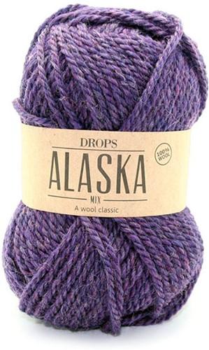 Drops Alaska 54 Lila-meliert