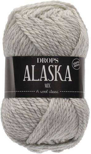 Drops Alaska Mix 63 Pearl Grey