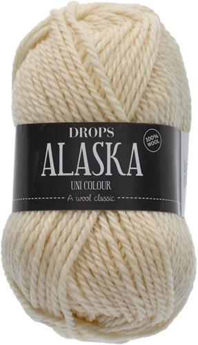 Drops Alaska Uni Colour 02 Off-white