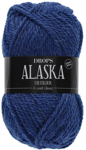 Drops Alaska Uni Colour 15 Midnight-blue