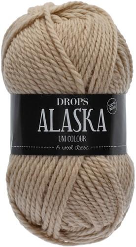 Drops Alaska Uni Colour 61 Wheat
