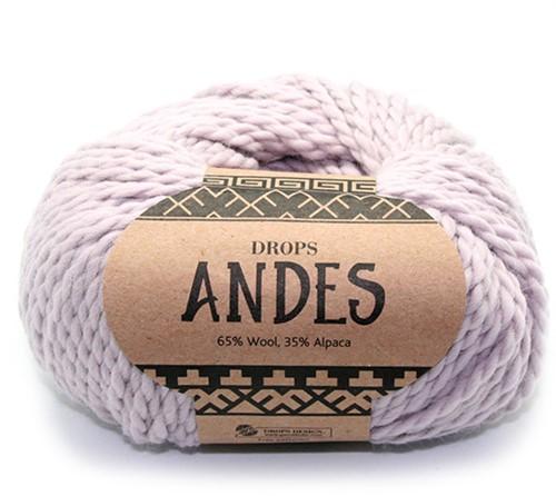 Drops Andes Uni Colour 4010 Perlgrau