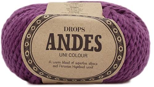 Drops Andes Uni Colour 4090 Erika