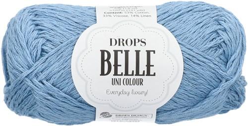 Drops Belle Uni Colour 15 Jeans-blue