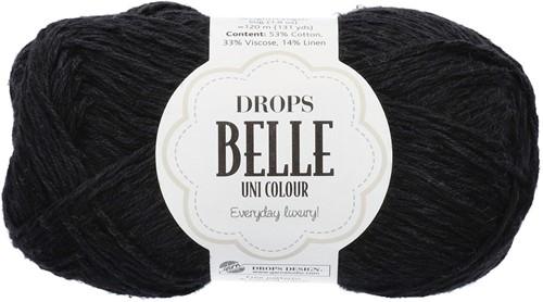 Drops Belle Uni Colour 08 Black
