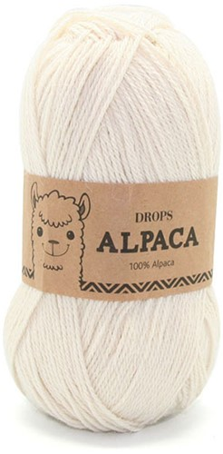 Drops Alpaca Uni Colour 100 Natur