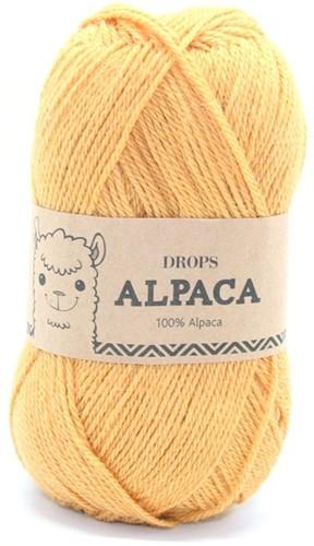 Drops Alpaca Uni Colour 2923 Senfgelb