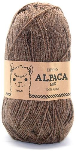 Drops Alpaca Mix 607 Hellbraun