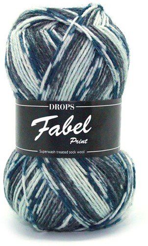 Drops Fabel Print 913 Chiaroscuro