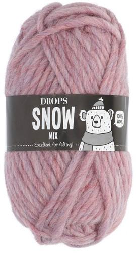 Drops Snow (Eskimo) Mix 36 Peony pink