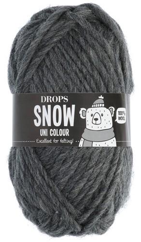Drops Snow (Eskimo) Uni Colour 14 Dark grey