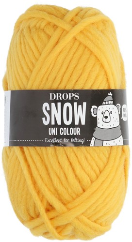 Drops Snow (Eskimo) Uni Colour 24 Yellow