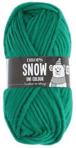 Drops Snow (Eskimo) Uni Colour 25 Hot green