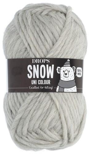 Drops Snow (Eskimo) Uni Colour 53 Light grey