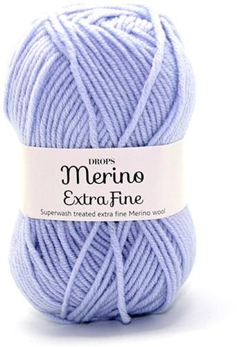 Drops Merino Extra Fine Uni Colour 14 Stahlblau