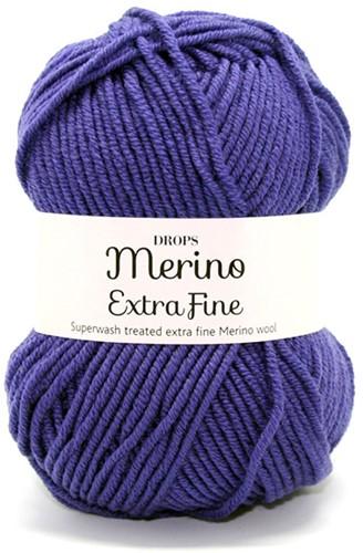 Drops Merino Extra Fine Uni Colour 21 Lila