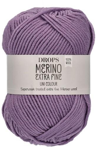 Drops Merino Extra Fine Uni Colour 22 Helllila