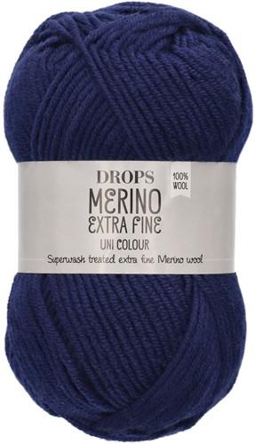 Drops Merino Extra Fine Uni Colour 27 Marine