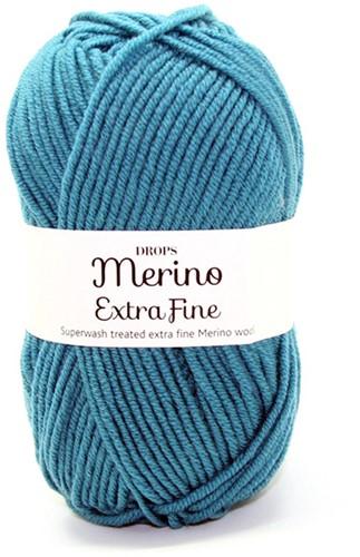 Drops Merino Extra Fine Uni Colour 28 Noordsee