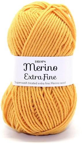 Drops Merino Extra Fine Uni Colour 30 Senf