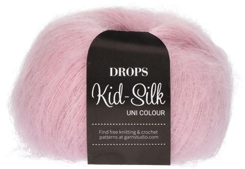Drops Kid-Silk Uni Colour 03 Light-pink