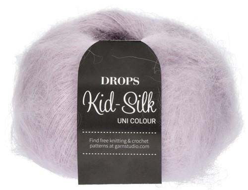 Drops Kid-Silk Uni Colour 09 Pearl-grey