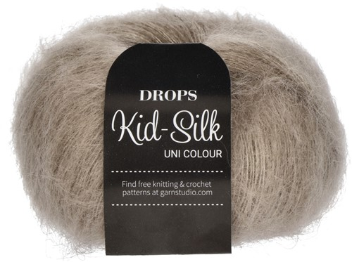 Drops Kid-Silk Uni Colour 12 Beige