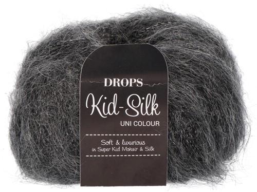 Drops Kid-Silk Uni Colour 22 Ash-grey