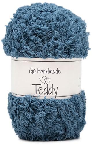 Go Handmade Teddy 48 Petrol