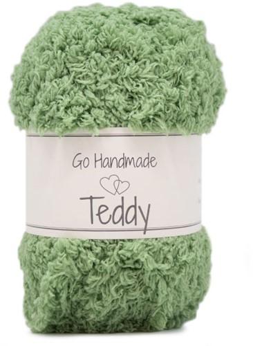 Go Handmade Teddy 77 Apple Green