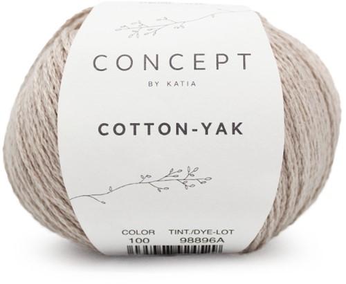 Cotton-Yak T-shirt Strickpaket 3 46/52 Beige