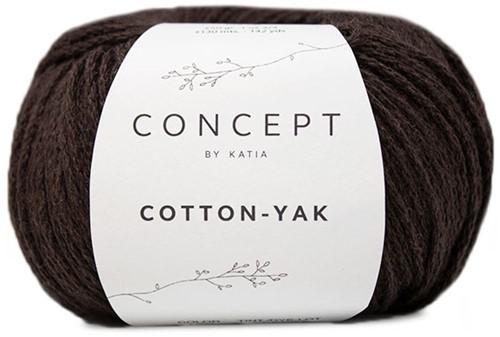 Katia Cotton-Yak 123 Brown