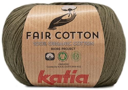 Katia Fair Cotton 36 Khaki