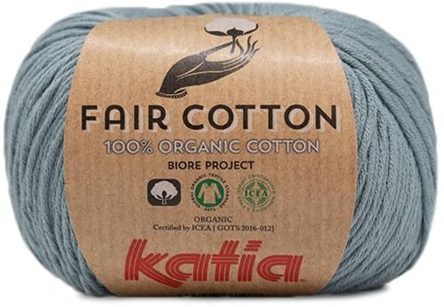 Katia Fair Cotton 41 Grey-Blue