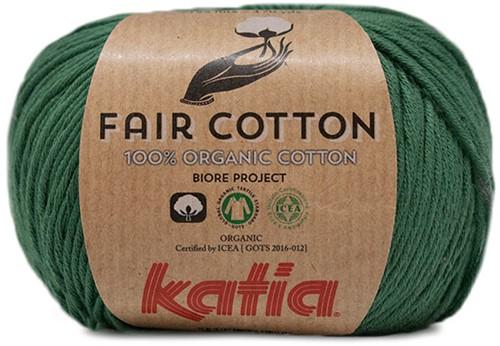 Katia Fair Cotton 42 Bottle Green