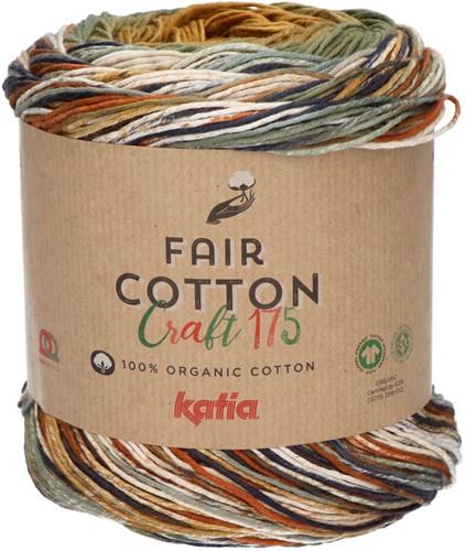 Katia Fair Cotton Craft 175 801 Beige / Camel / Mink
