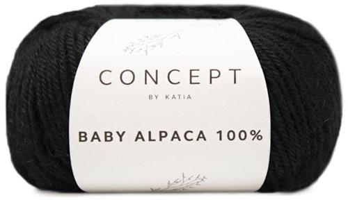 Katia Baby Alpaca 100% 505 Black