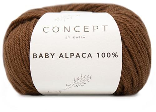 Katia Baby Alpaca 100% 509 Brown